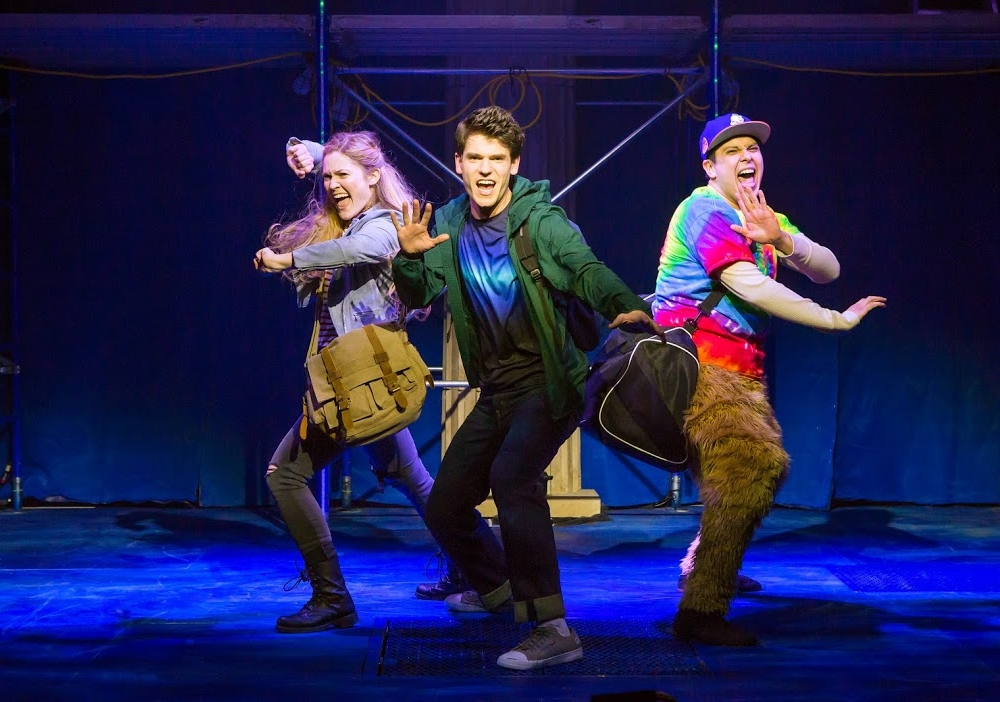 "Review ""The Lightning Thief"" (Broadway in Chicago): A Fun, Family-friendly Quest!"