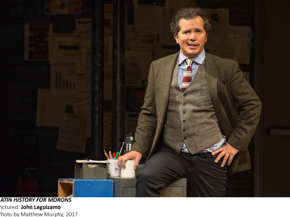 "Review ""Latin History for Morons"" (Broadway in Chicago):  A Clever Tutorial"