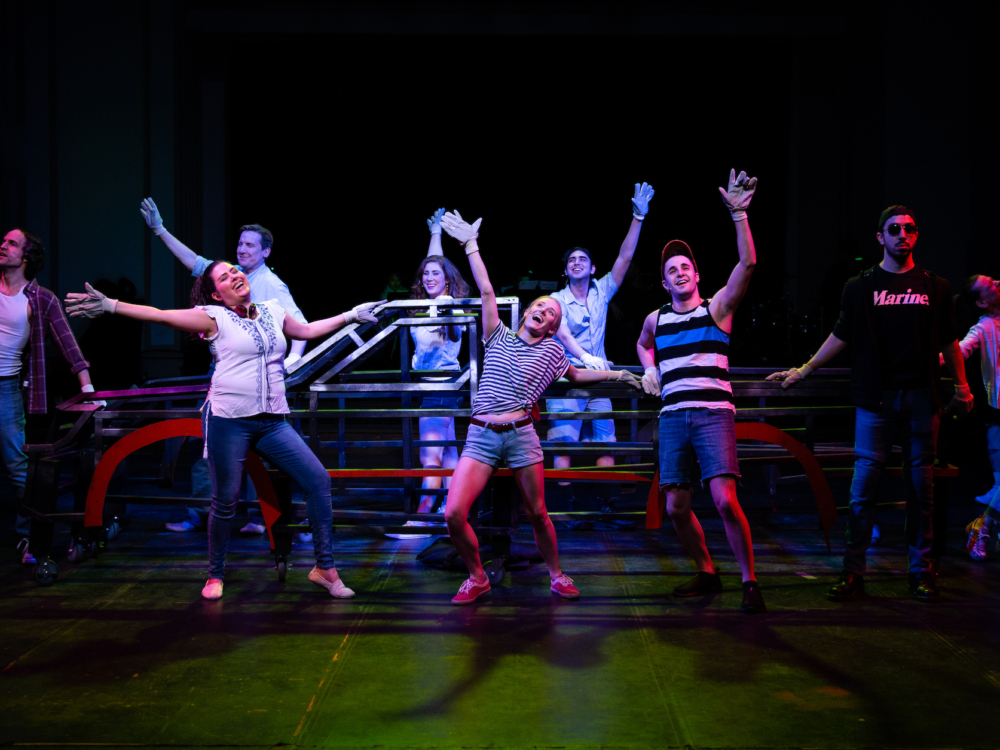 """Review """"Hands on a Hard Body"""" (Refuge Theatre): Sound Challenged"""
