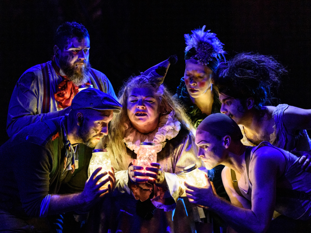 """Review """"The Ruffian's Burning Bluebeard"""" (Porchlight Music Theatre): Magical!"""